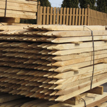 Hardwood Stakes for Matting and Shelters