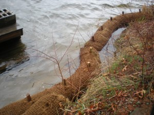 coir rolls and erosion control matting in md